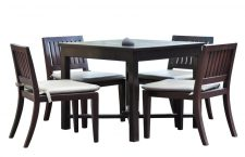 Dining furniture with clipping path